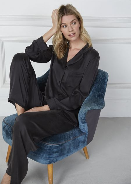 Women's Silk Pyjamas (1)